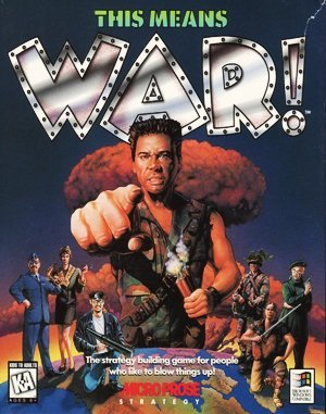 This Means War! DOS front cover
