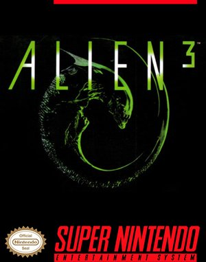 Alien³ SNES front cover