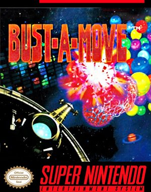 Bust-A-Move SNES front cover