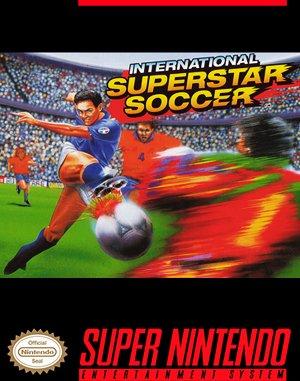 International Superstar Soccer Deluxe SNES front cover