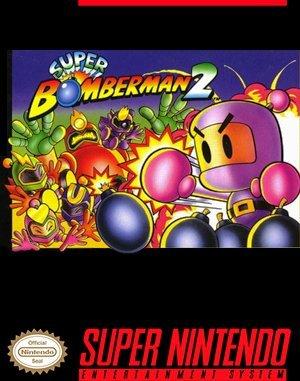 Super Bomberman 2 SNES front cover