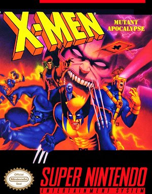 X-Men: Mutant Apocalypse SNES front cover
